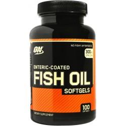 Fish Oil, Enteric Coated - 100 softgels