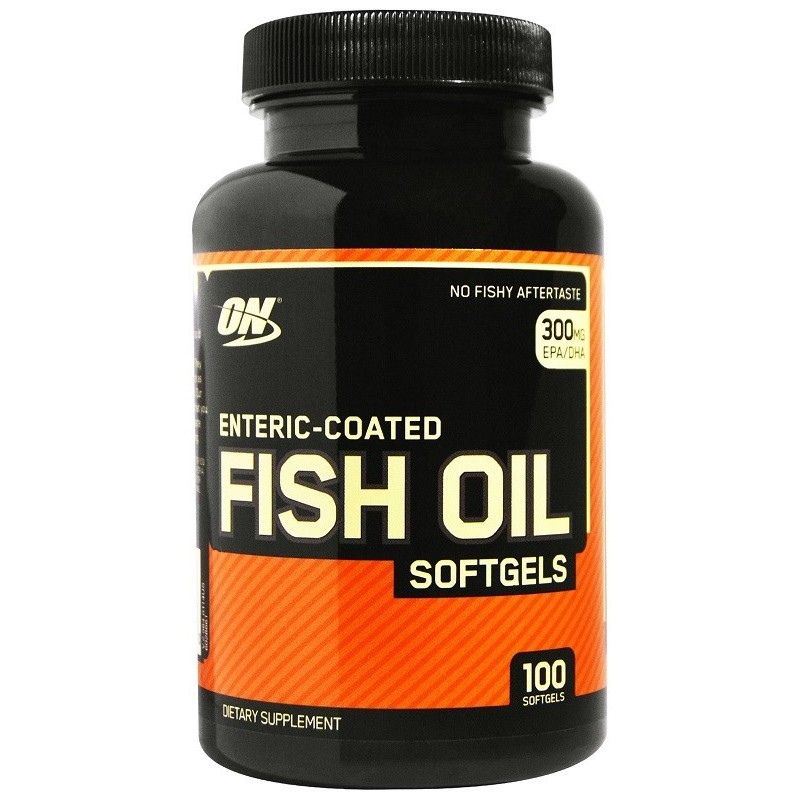 Fish Oil - 100 gélules molles