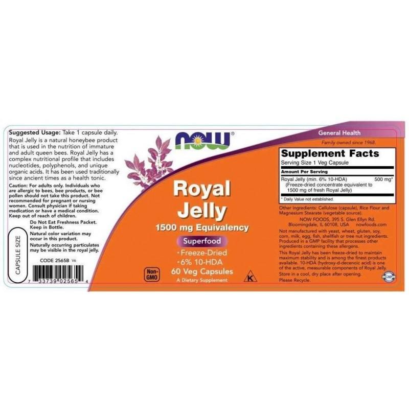 Gelée Royale 1500 mg (60 capsules veggie)