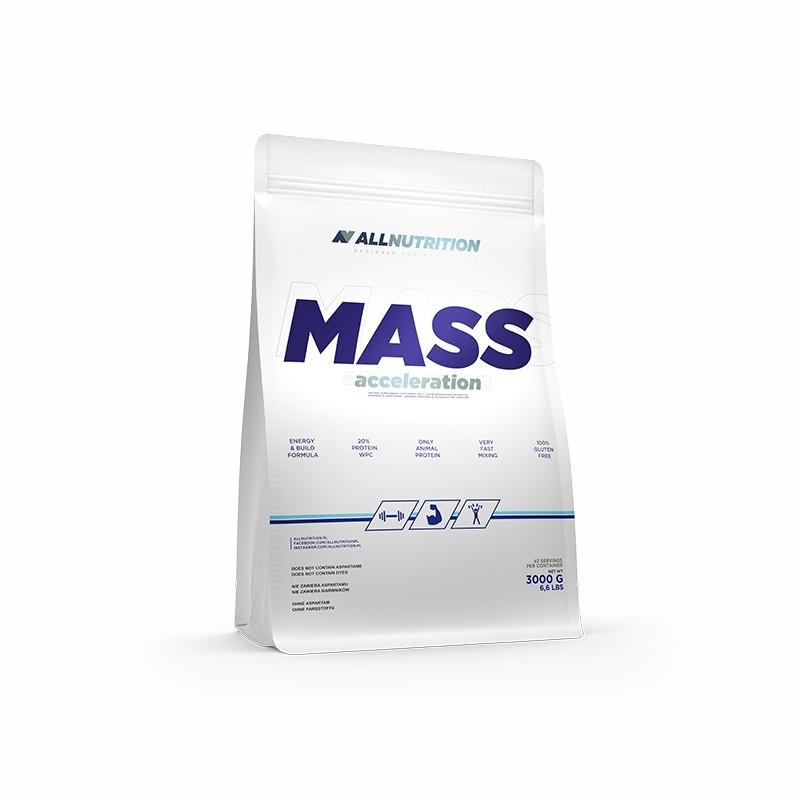 Mass Acceleration 3000 gr