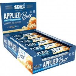 Applied Protein Crunch Bar, Milk Choc Caramel - 12 x 60g
