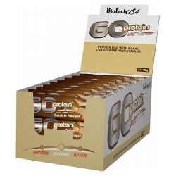 GO Protein Bar, Chocolate-Marzipan - 24 x 40g