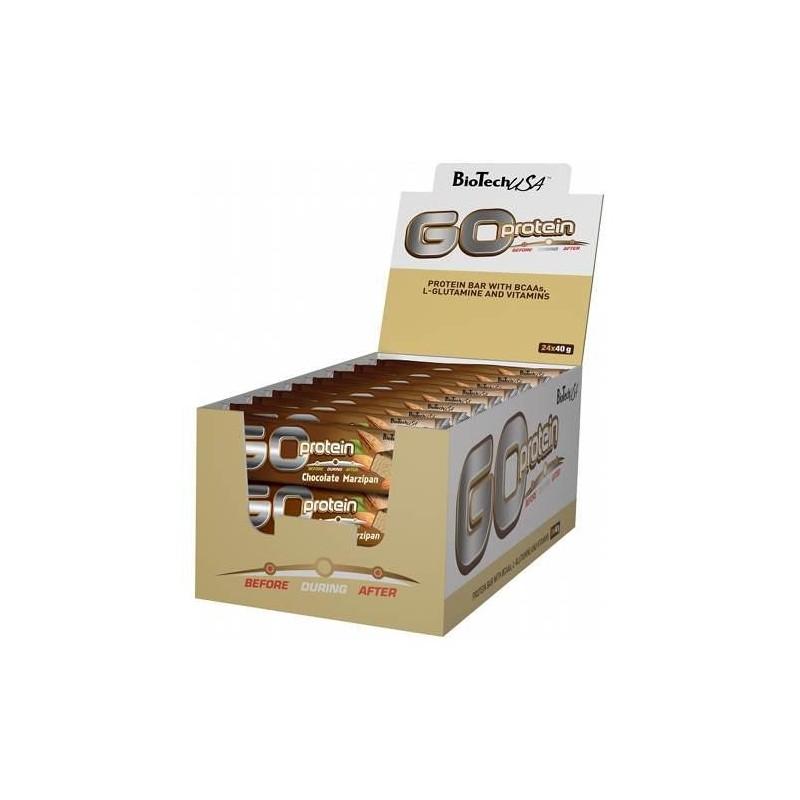 GO Protein Bar - Boite de 24 barres de 40 gr