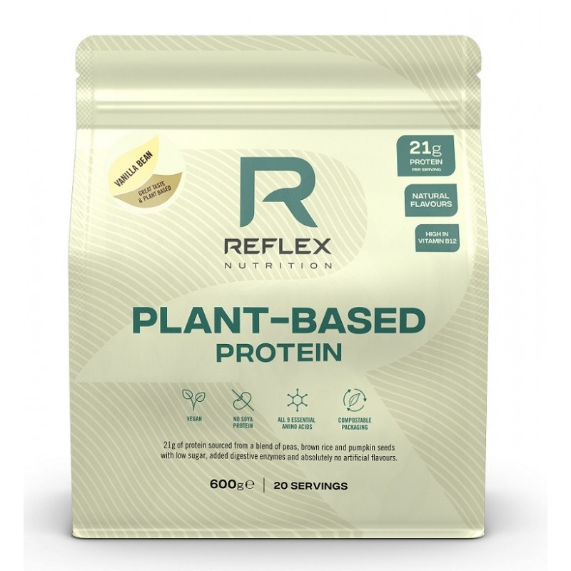 Plant Based Protein, Vanilla Bean - 600g