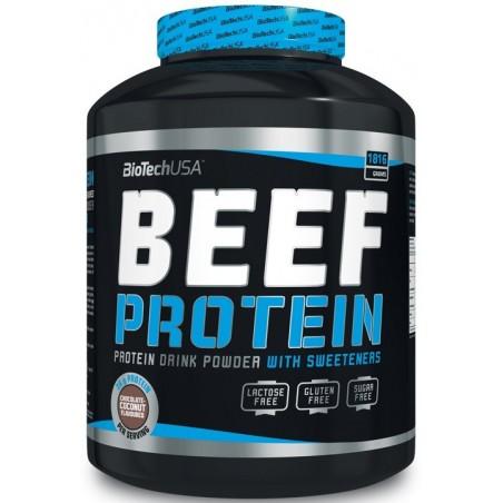 Beef Protein, protéine de boeuf, 1816 gr