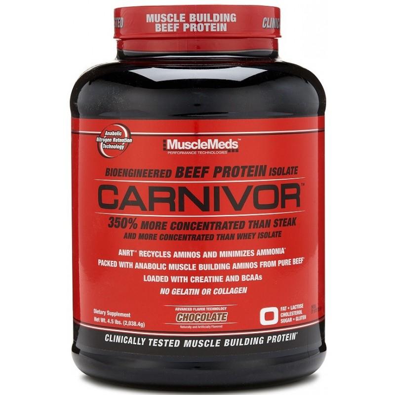 Carnivor, proteína de vacuno