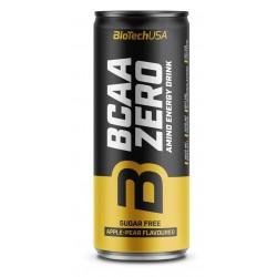 BCAA Zero Energy Drink, Apple-Pear - 24 x 330 ml.