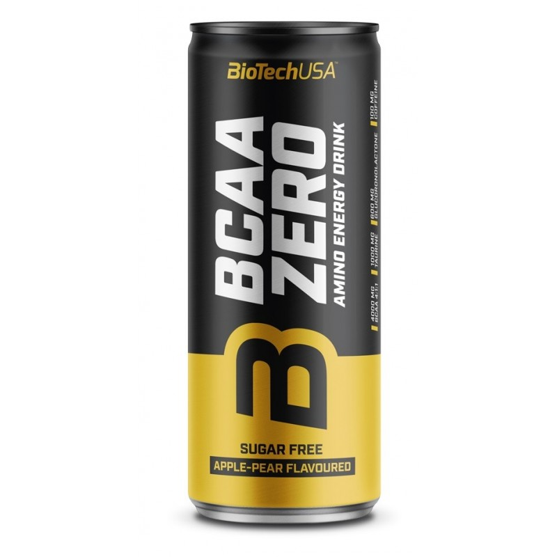 BCAA Zero Energy Drink 24 x 330 ml.