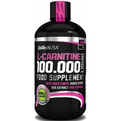L-Carnitine 100.000, Cherry - 500 ml.