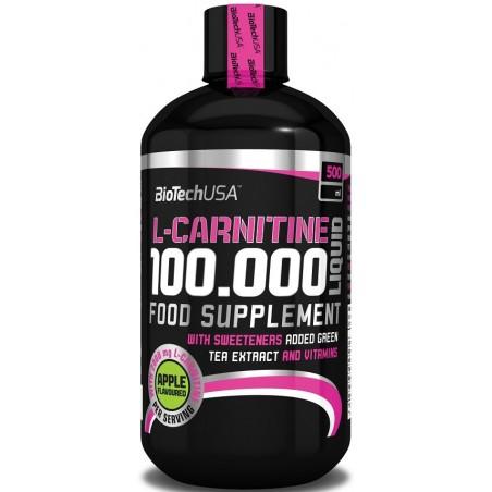 L-Carnitine 100.000, Cherry - 500 ml.