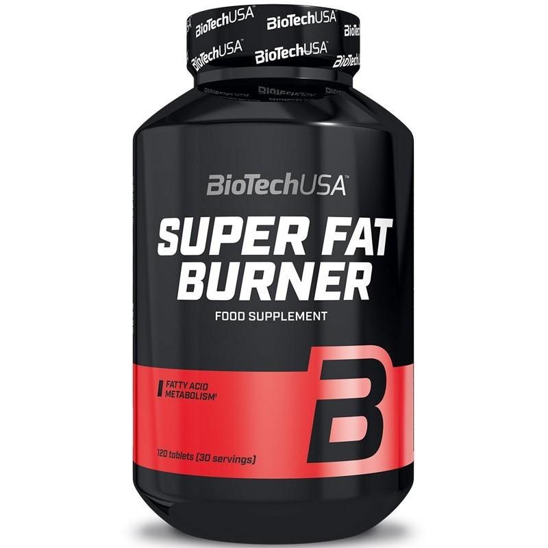 Super Fat Burner - 120 tablettes