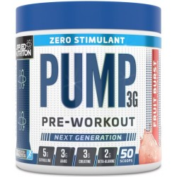 Pump Zero Stimulant, Icy Blue Raz - 375g