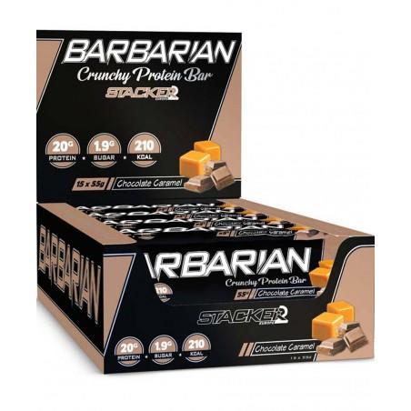 Barbarian, barre protéinée, 15 barres de 55 gr