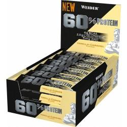 Weider 60% Protein Bar - Boite de 24 barres
