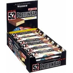 Weider 52% Protein Bar - Boite de 24 barres