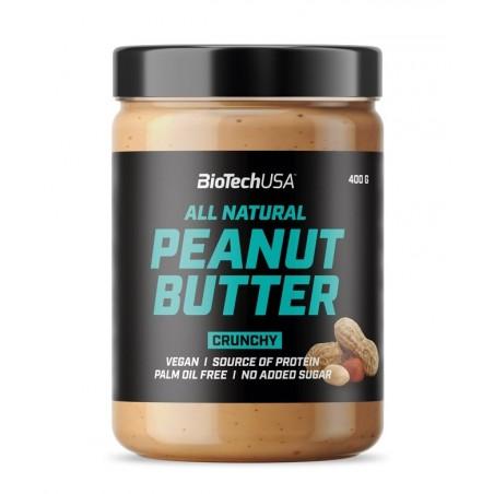 Peanut Butter, Crunchy - 400g