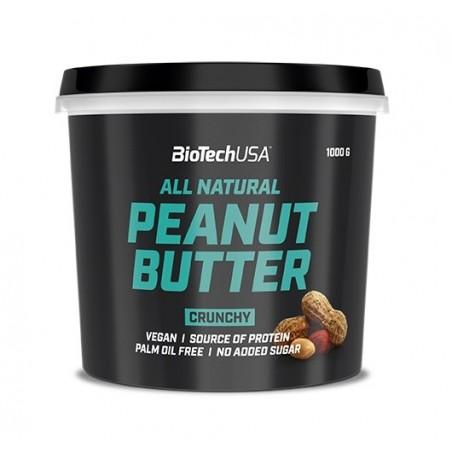 Peanut Butter, Crunchy - 1000g