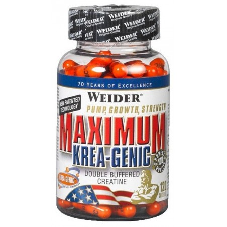 Maximum Krea-Genic 120 caps weider