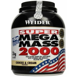 Mega Mass 2000, Creamy Vanilla - 3000g